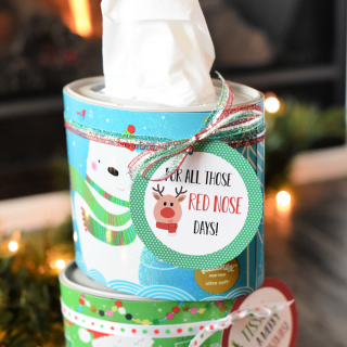 We Tissue a Merry Christmas Neighbor Gift Idea