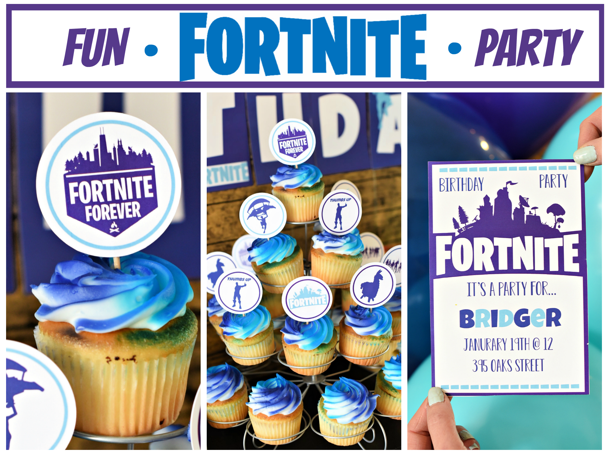 Fun Fortnite Birthday Party