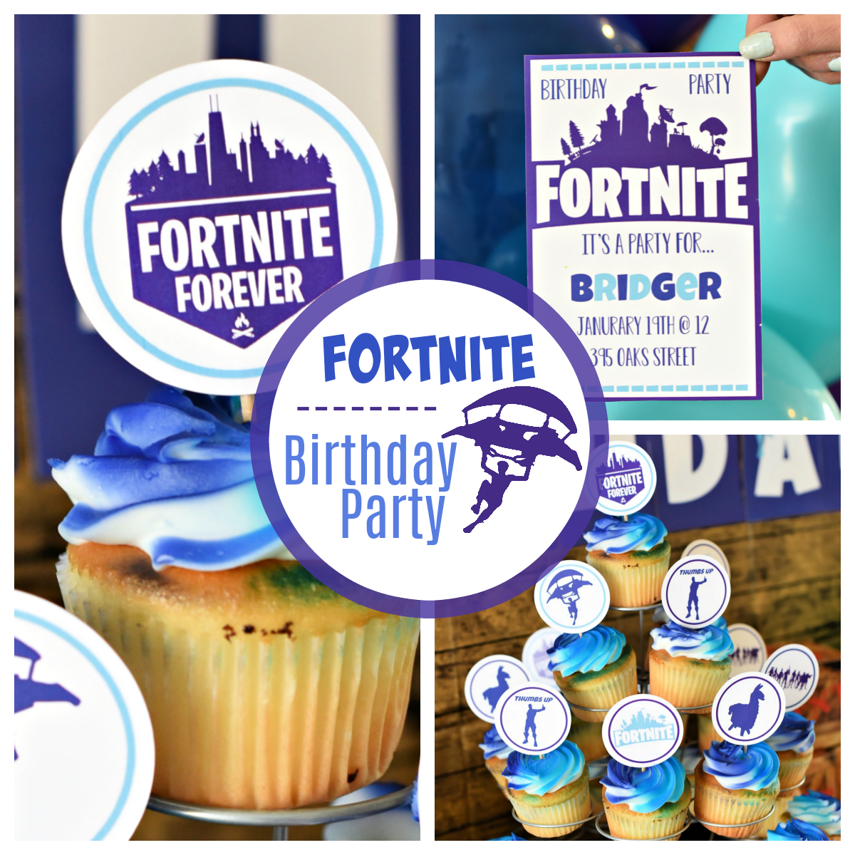Fun Fortnite Birthday Party