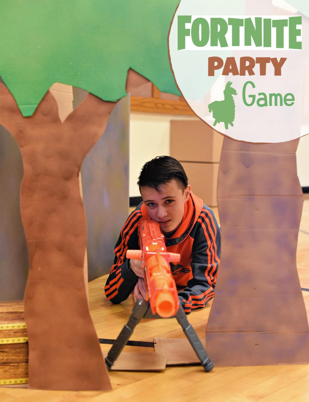 Fun Fortnite Party Games