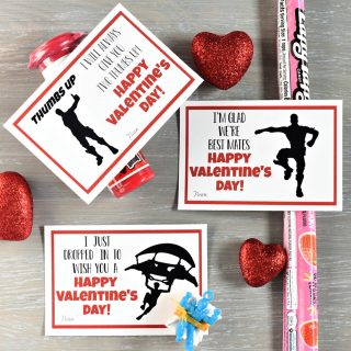 Fortnite Printable Valentines