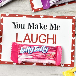Laffy Taffy Free Printable Valentine Cards