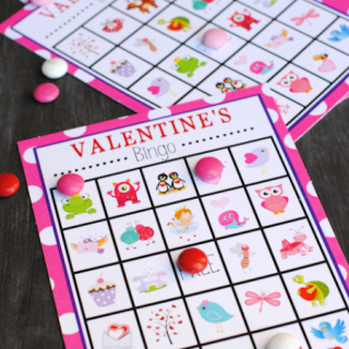 Valentine's Bingo Game to Print & Play
