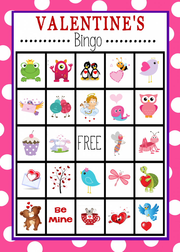 Valentine's Bingo Game Boards