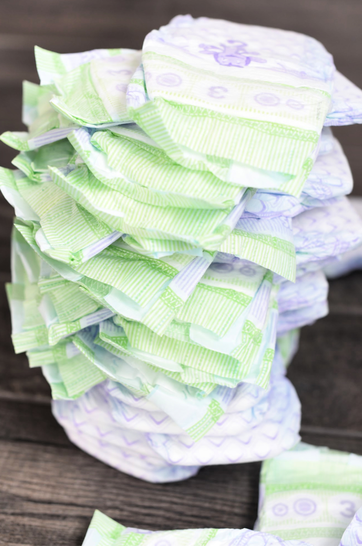 Diaper Stacking Minute to Win It