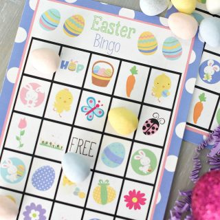 Free Printable Easter Bingo Game