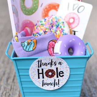 Donut Themed Thank You Gift