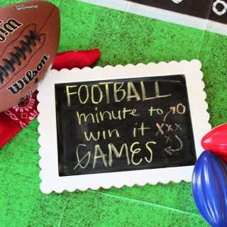 Football Minute To Win It Party Games